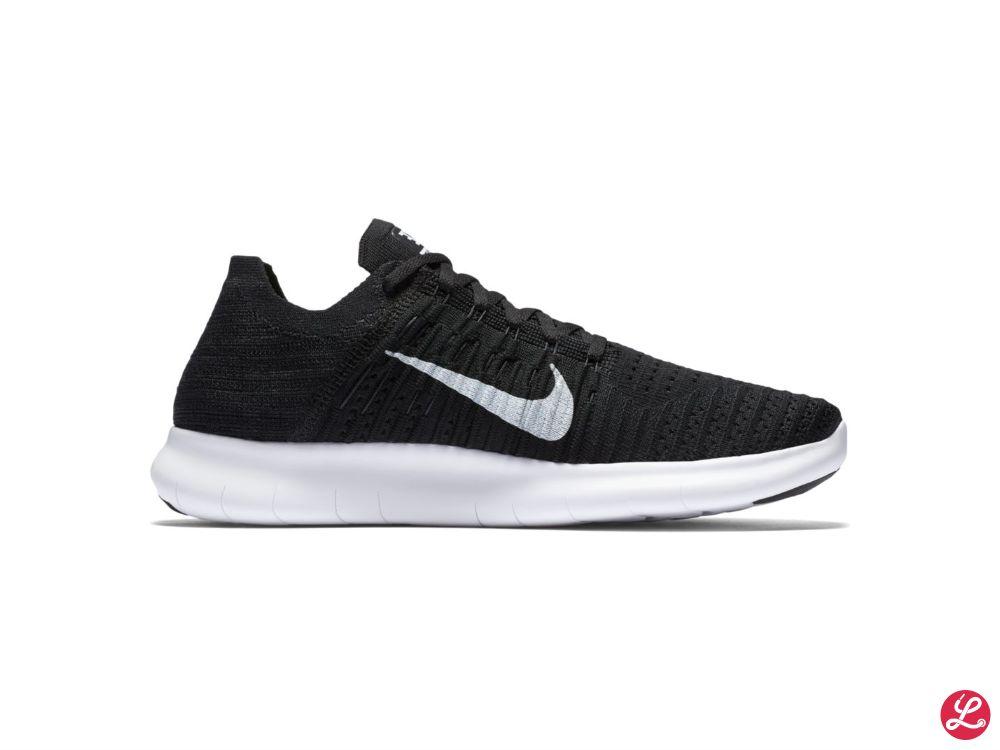 Nike Free Run Flyknit (Schwarz)