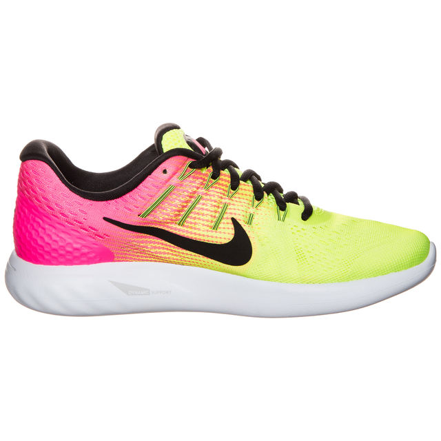 Nike Lady LunarGlide 8 Olympic (Gelb Pink)