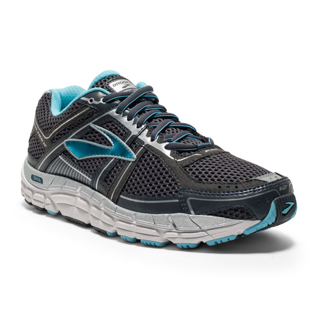 Brooks Lady Addiction 12 B in Grau Blau