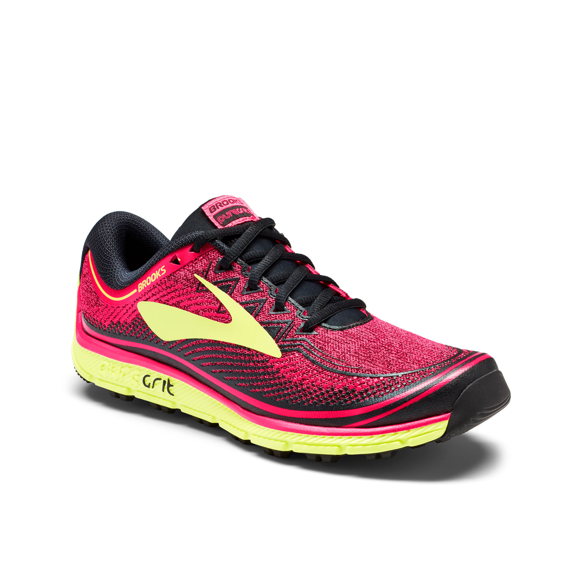 Brooks Lady PureGrit 6 in Pink Nightlife