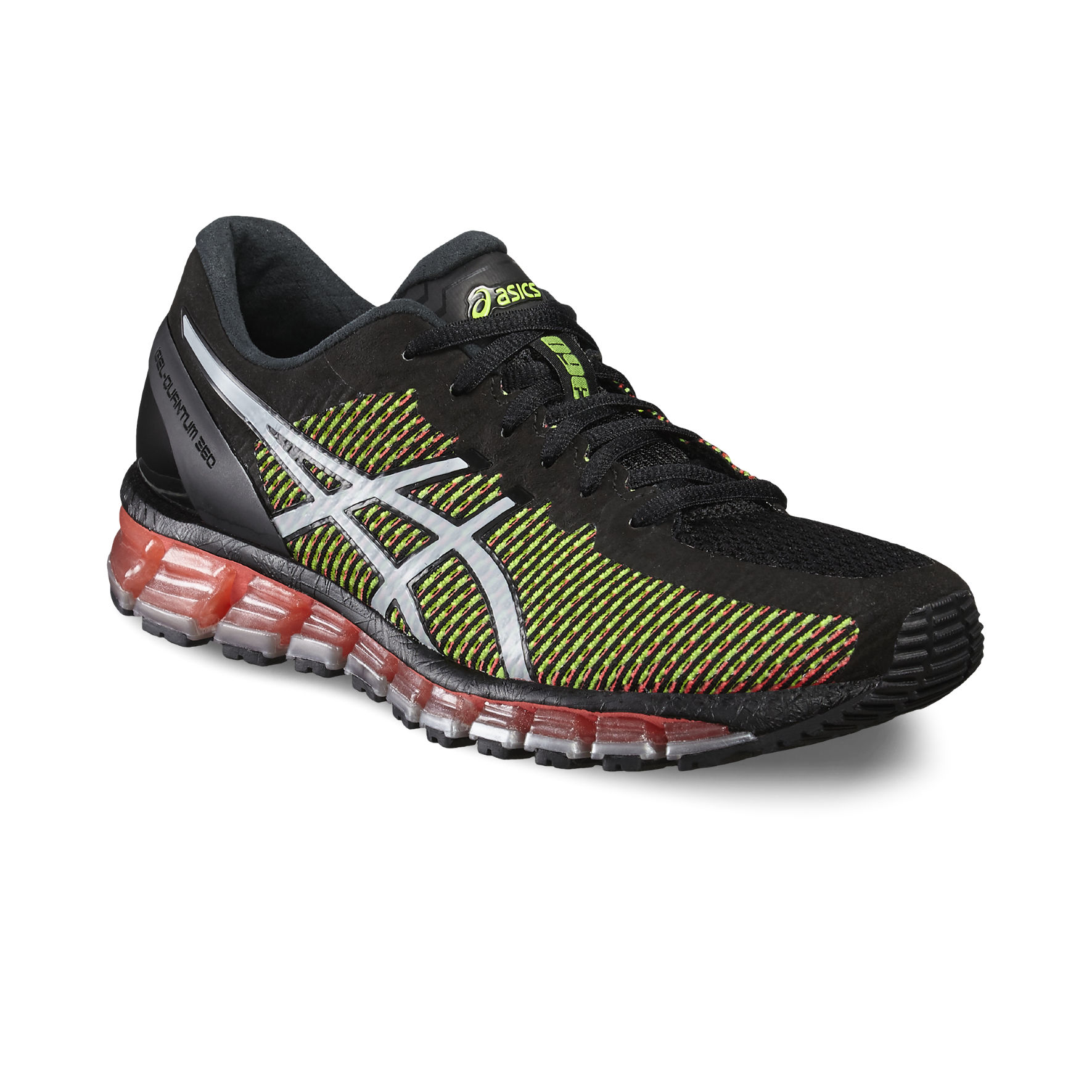 Asics Lady Gel Quantum 360 2 in Schwarz Rot