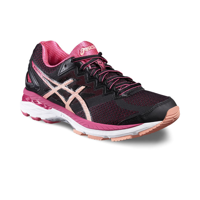Asics Lady GT 2000 4 2A in Schwarz Rot Pink