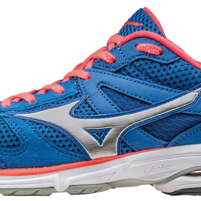 Mizuno Lady Wave Aero 15 in Blau Pink