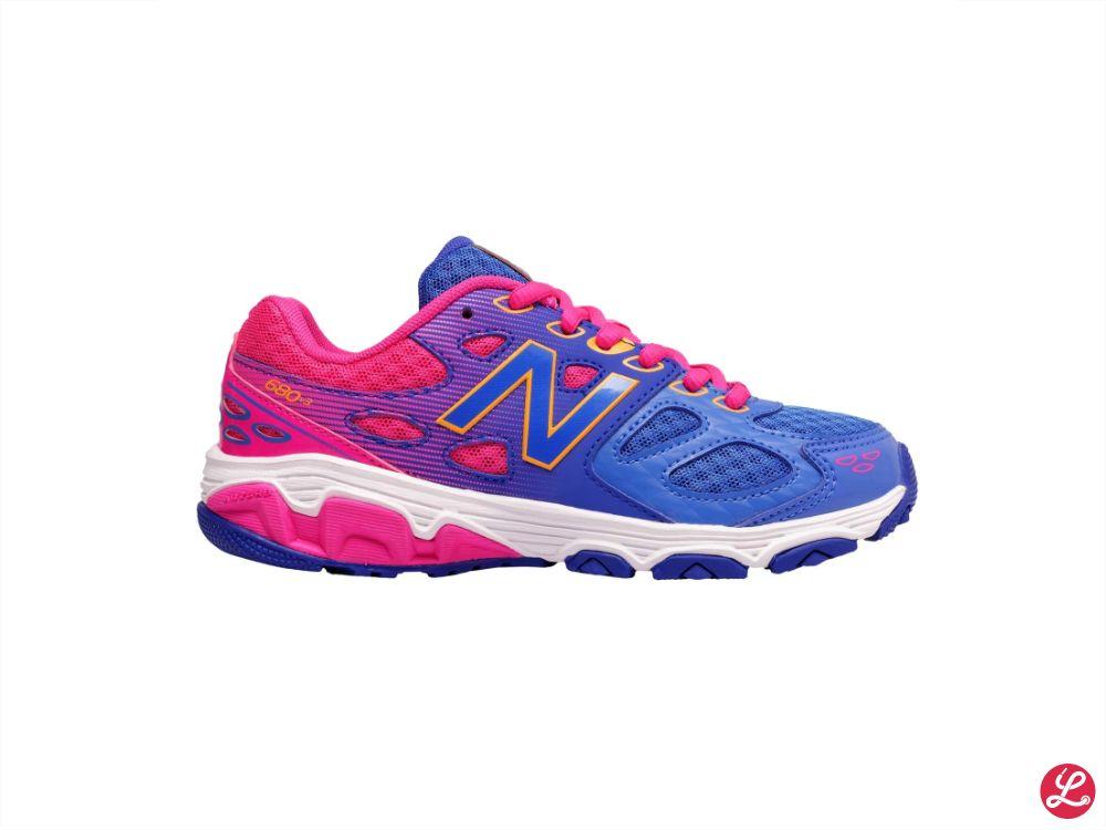 New Balance Kids 680 v3 Girls (Blau Pink)