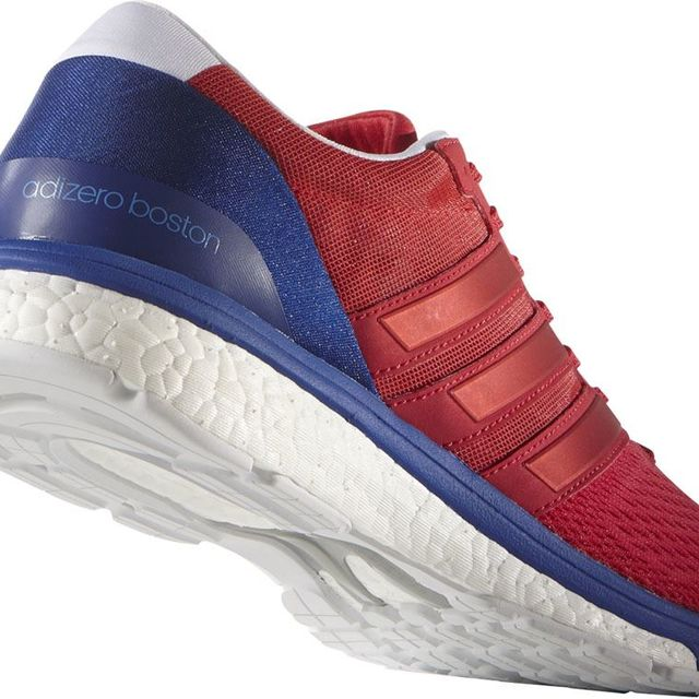 adidas Adizero Boston 6 in Rot Blau