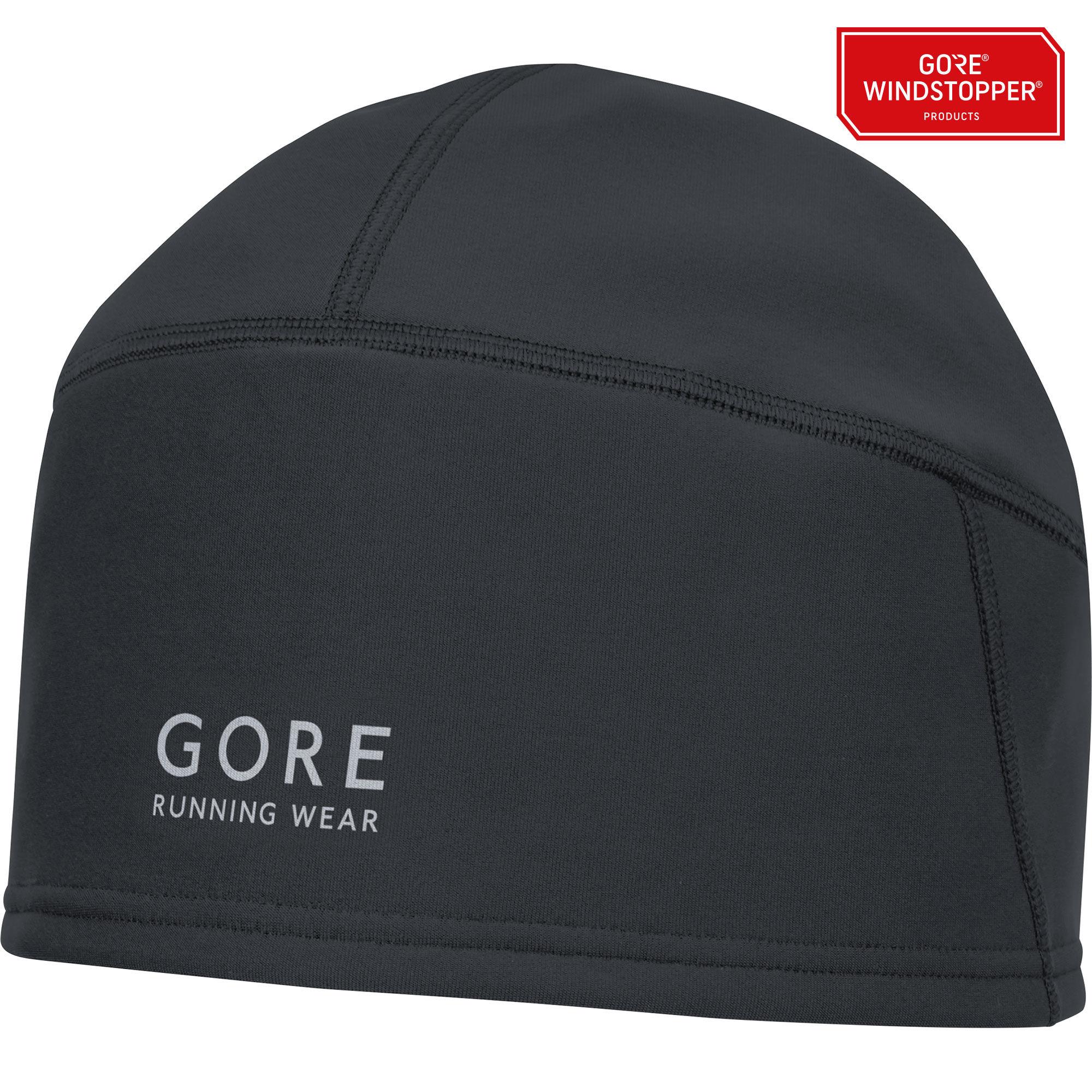 Gore Essential WS Mütze in Schwarz