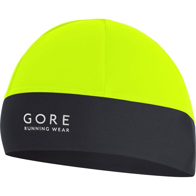 Gore Essential Mütze in Neon Gelb Schwarz