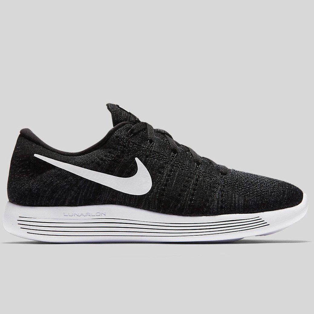 Nike LunarEpic low Flyknit in Schwarz