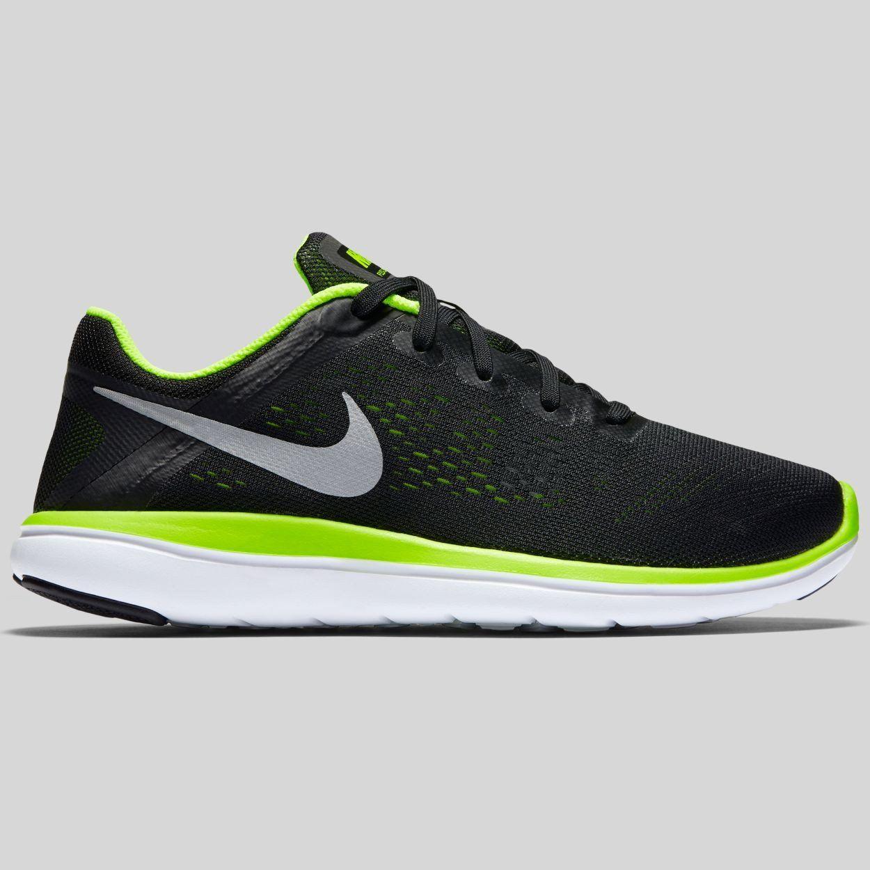Nike Flex Run GS in Schwarz