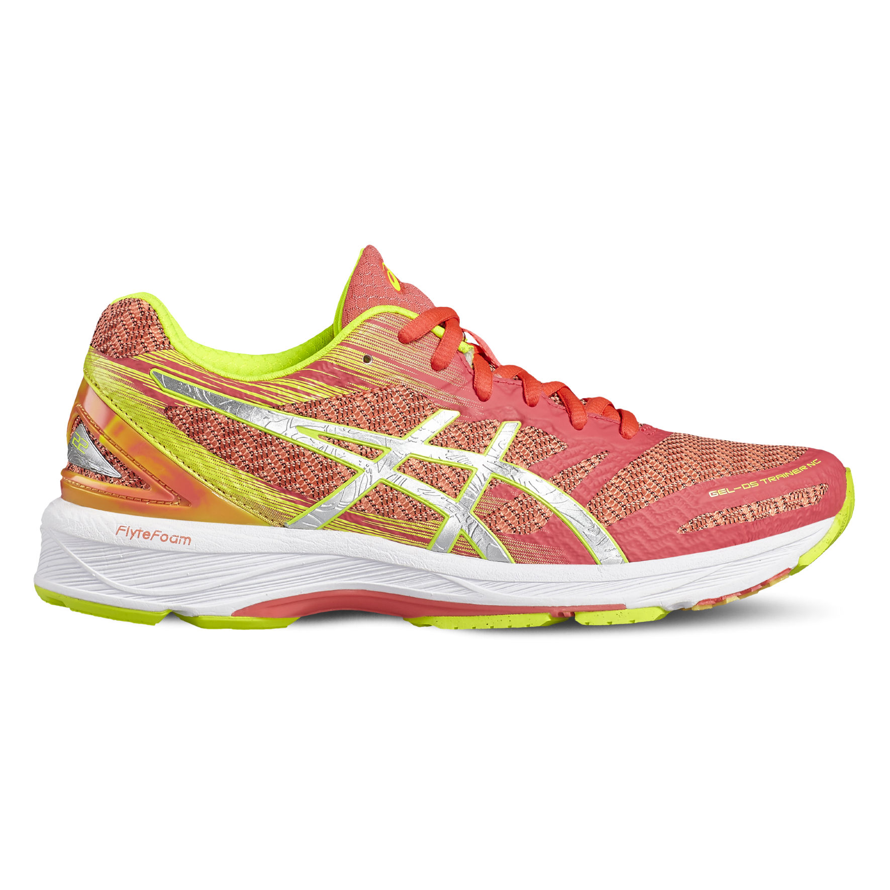 Asics Lady DS Trainer 22 NC in Pink Gelb