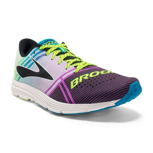 Brooks Lady Hyperion in Lila Gelb
