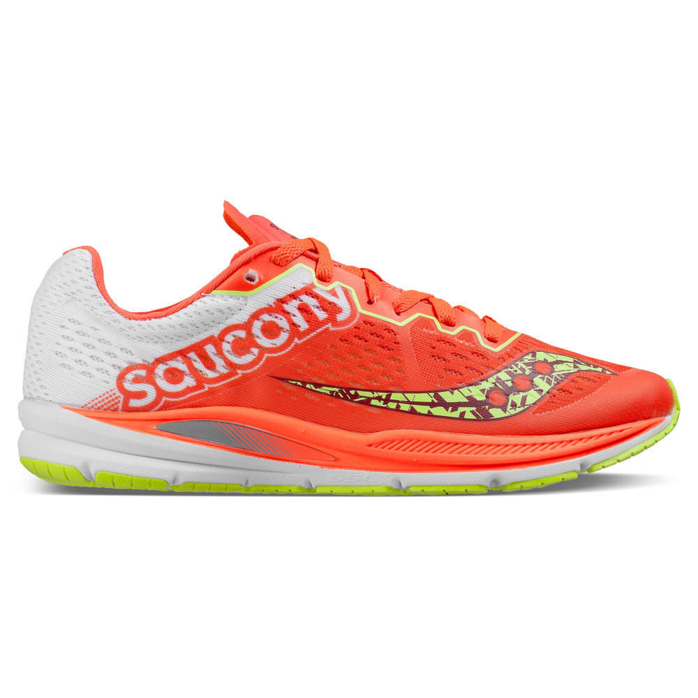 Saucony Lady Fastwitch 8 in Rot Weiß