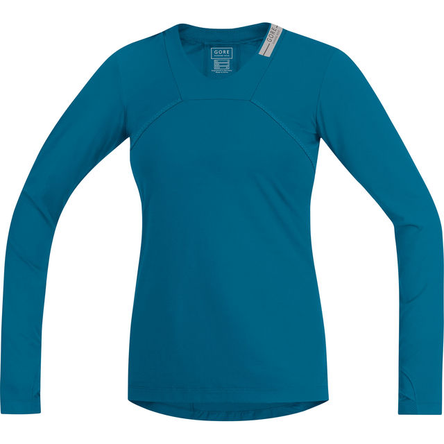 Gore Air Lady Shirt lang in Blau