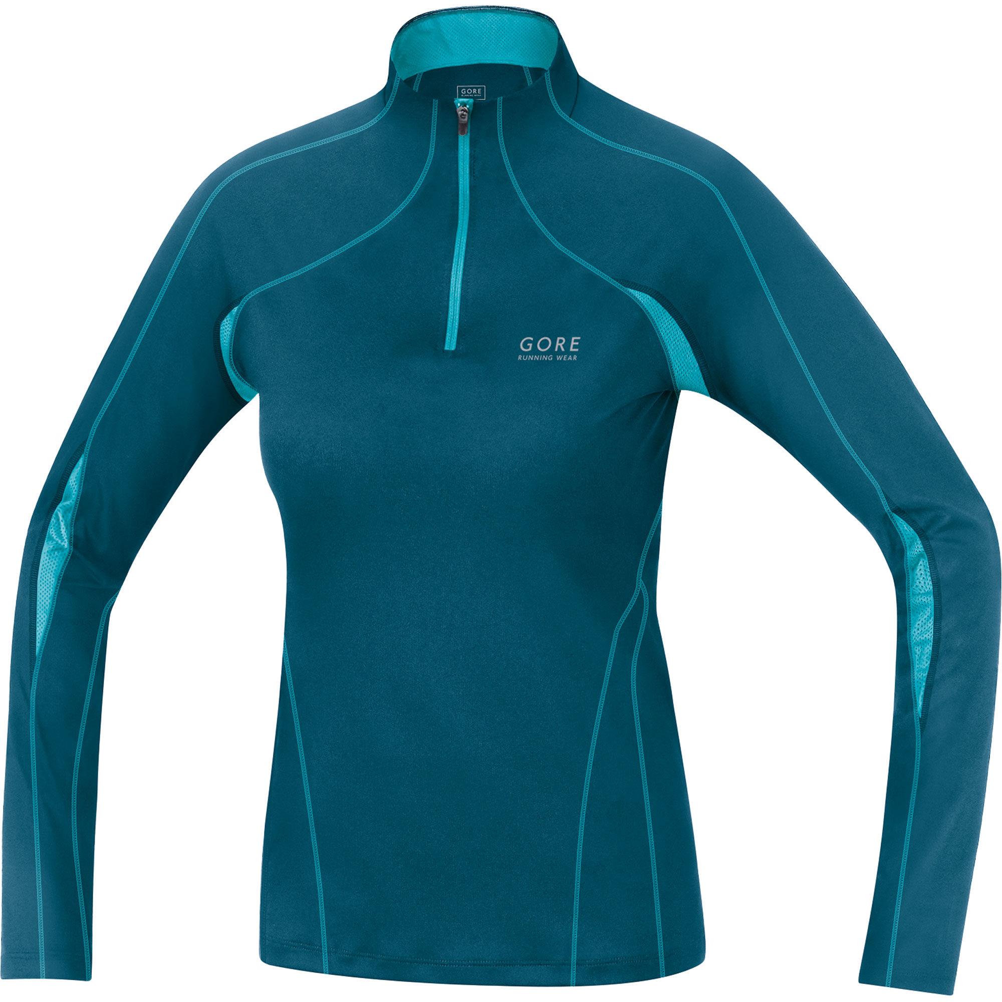 Gore Essential Lady 2.0 Shirt lang in Blau