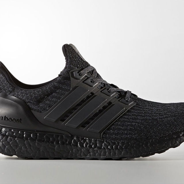 adidas UltraBOOST 3.0 Triple Black in Schwarz