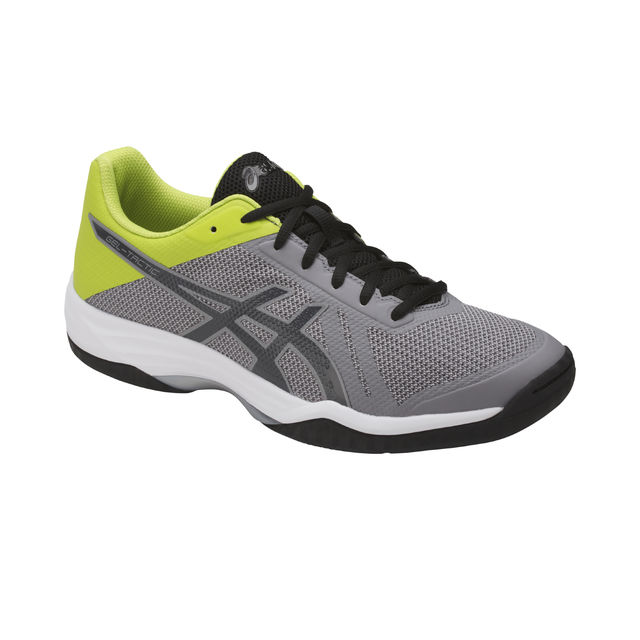Asics Gel Tactic in Grau Gelb