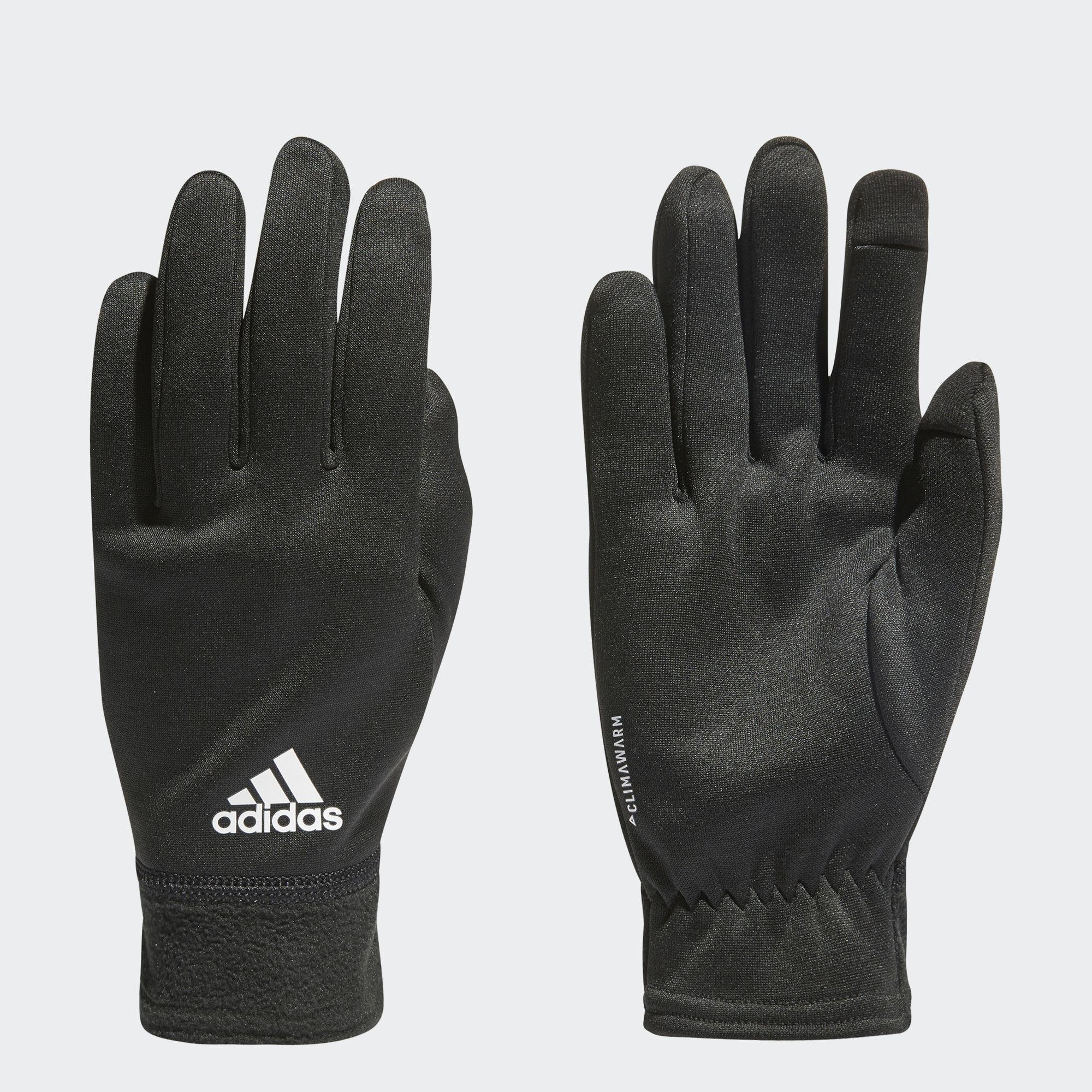 adidas Climawarm Fleece Gloves in Schwarz
