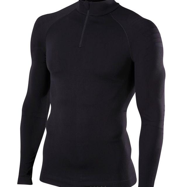 Falke Langarmshirt warm in Schwarz