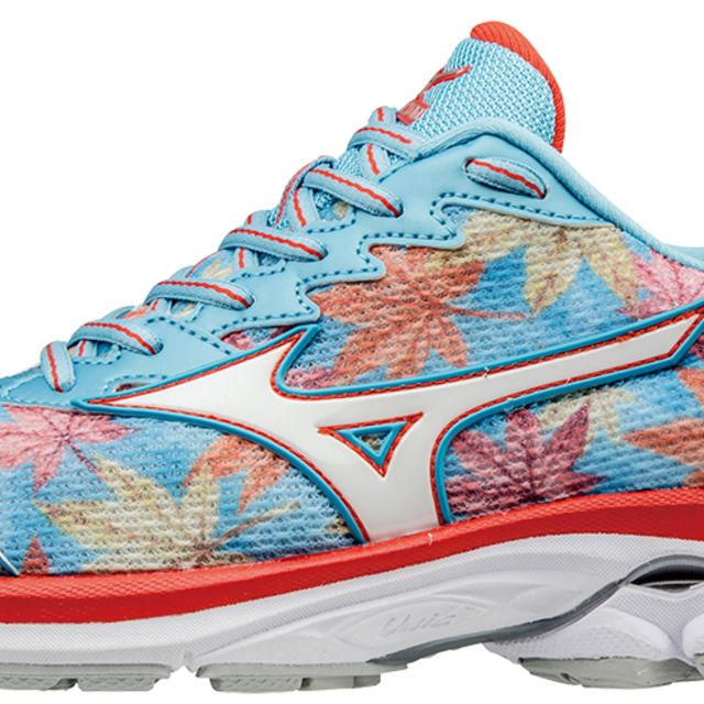 Mizuno Lady Wave Rider 20 Fuji in Bunt