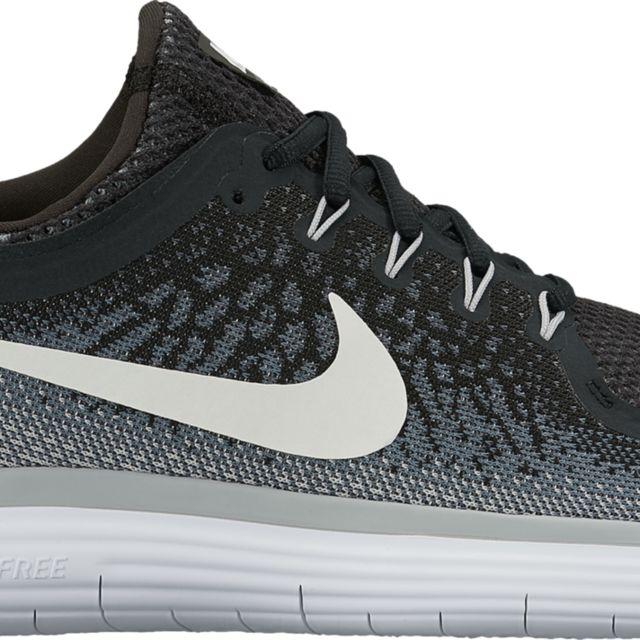 Nike Free RN Distance 2 in Schwarz Weiß