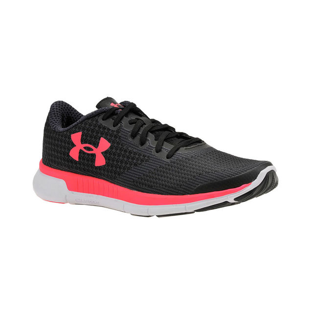Under Armour Lady Charged Lighning in Schwarz Pink