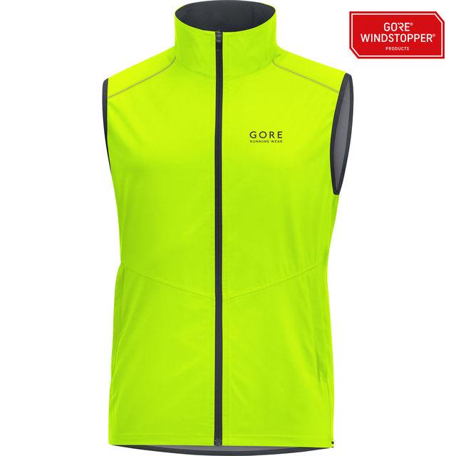Gore Essential GWS Weste in Neon Gelb