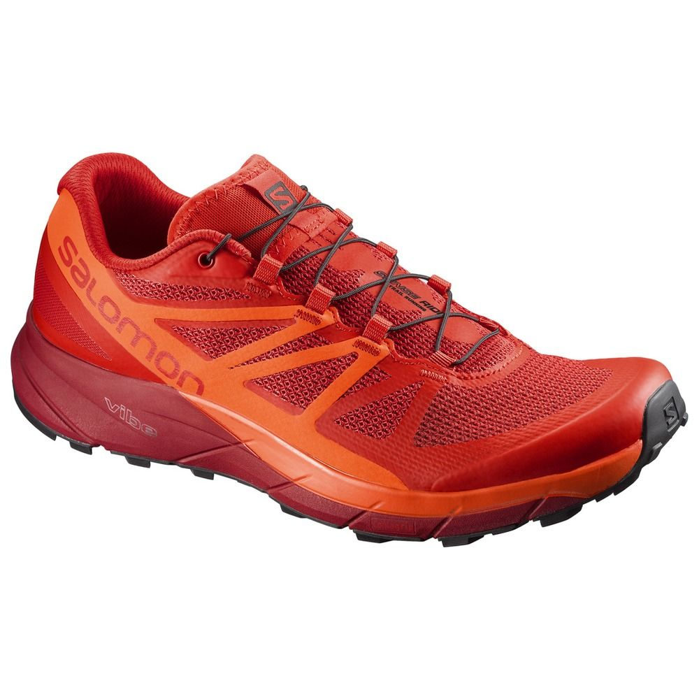 Salomon Sense Ride in Rot