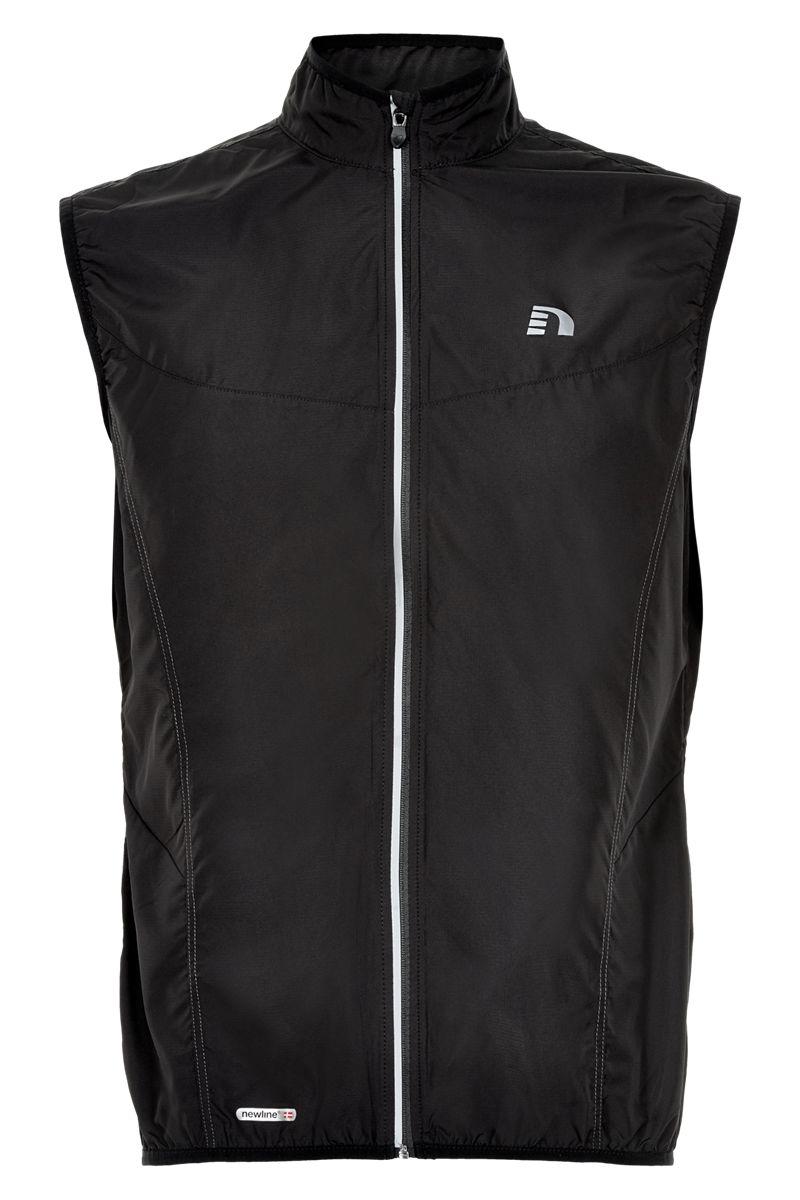Newline Base Tech Vest in Schwarz