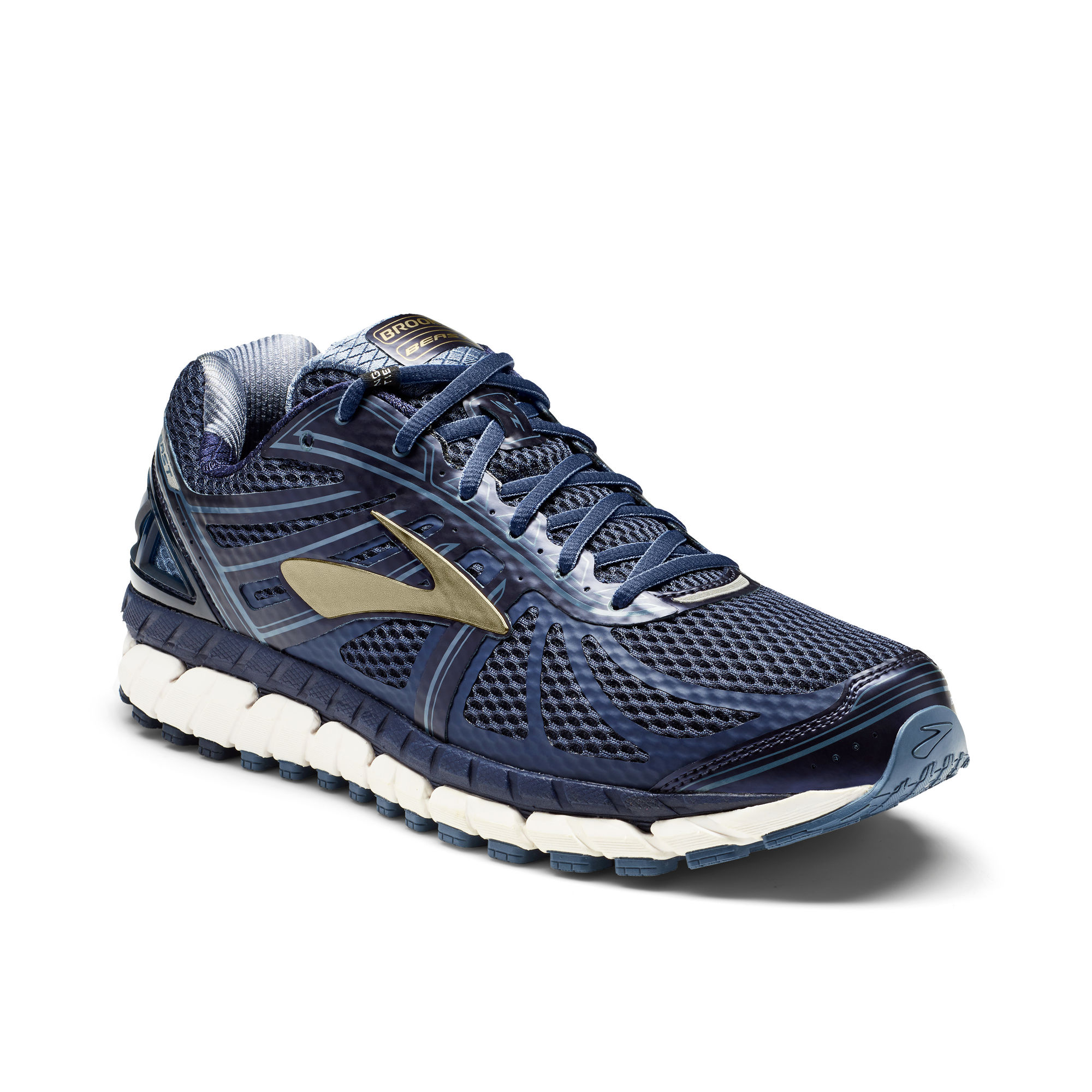 Brooks Beast 16 D in Blau