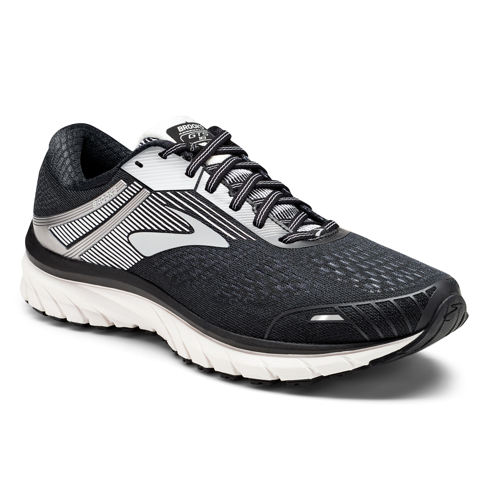 Brooks Adrenaline 18 D in Schwarz Grau