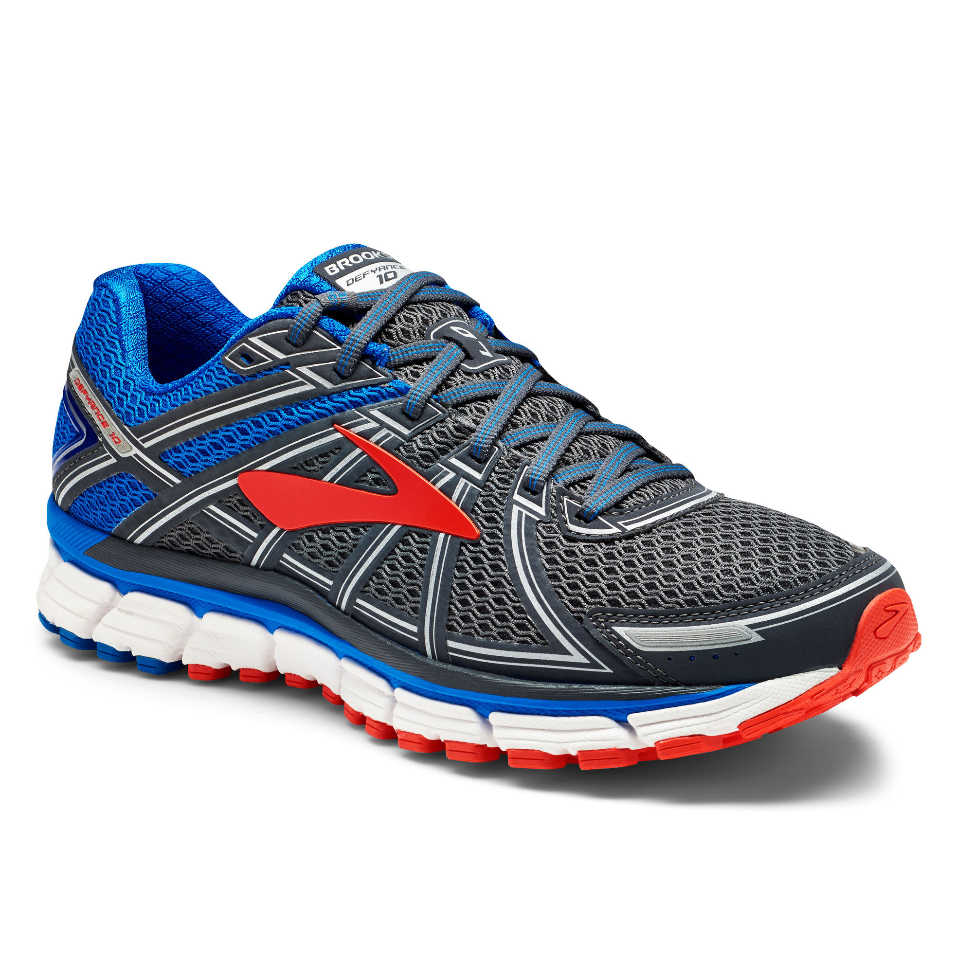 Brooks Defyance 10 B in U Blau Grau
