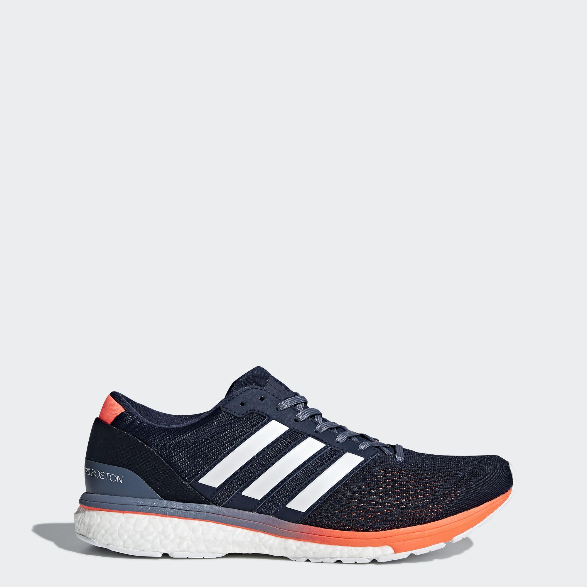 adidas Adizero Boston 6 in Blau Orange