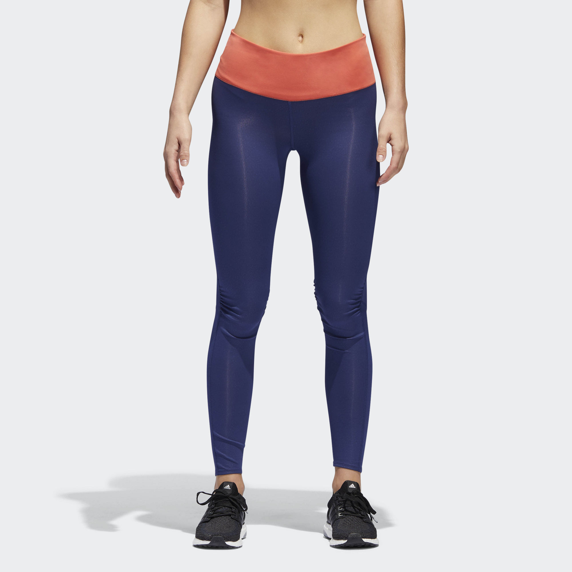 adidas Supernova Long Tight w in Blau Lila