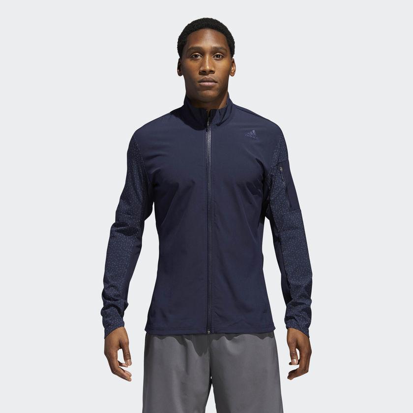 adidas Supernova Storm Jacket in Blau