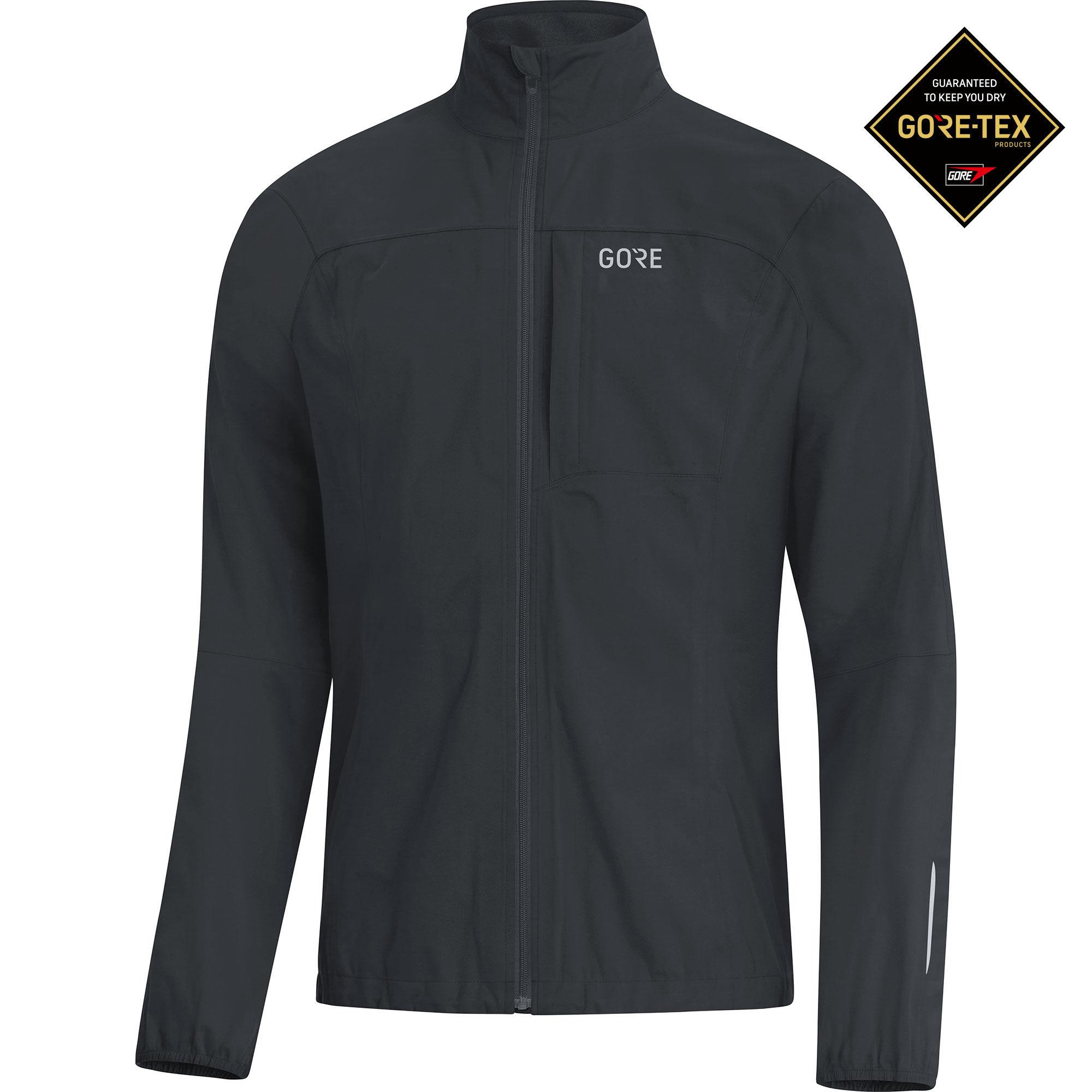 Gore R3 GTX Active Jacke in Schwarz