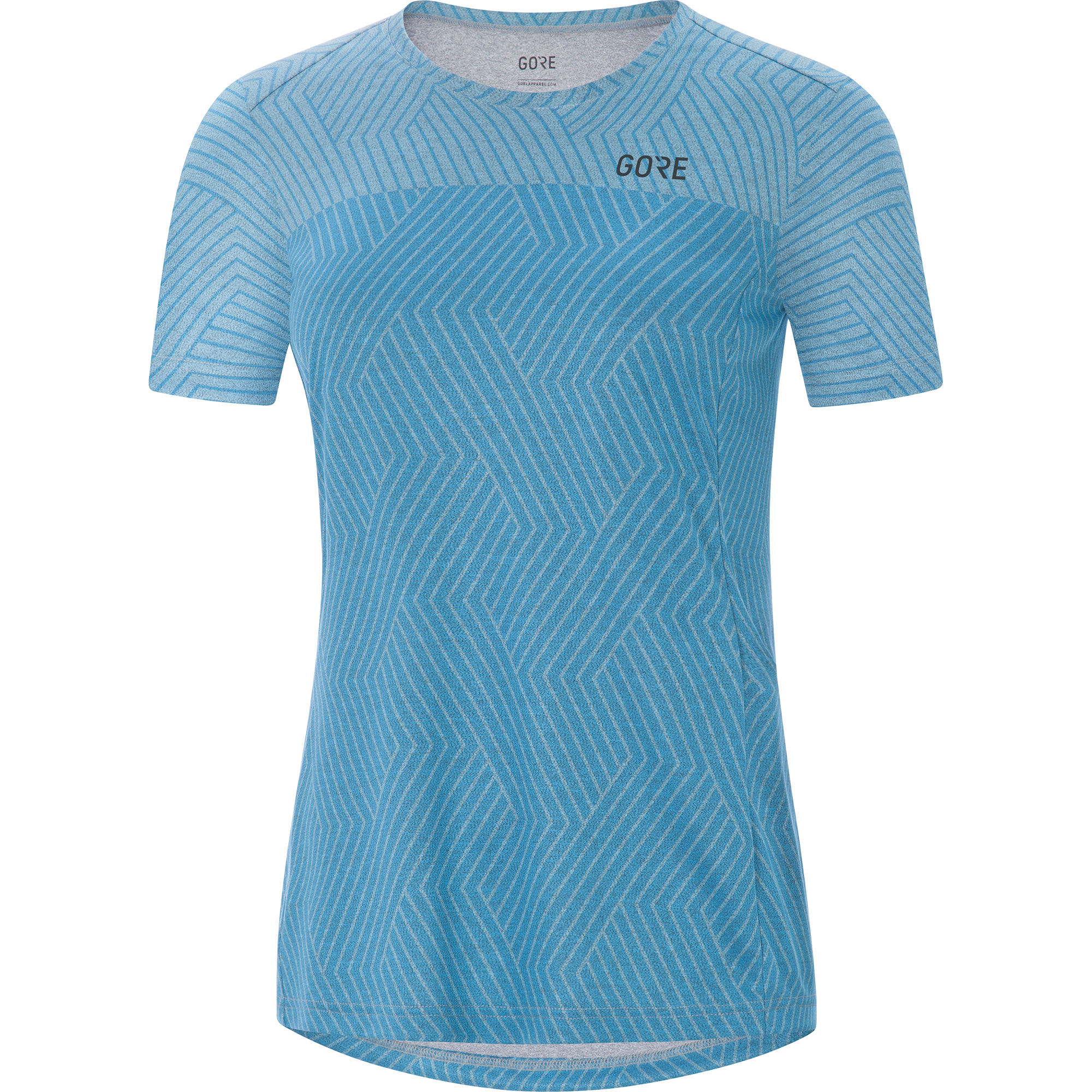 Gore R3 Lady Optiline Shirt in Blau