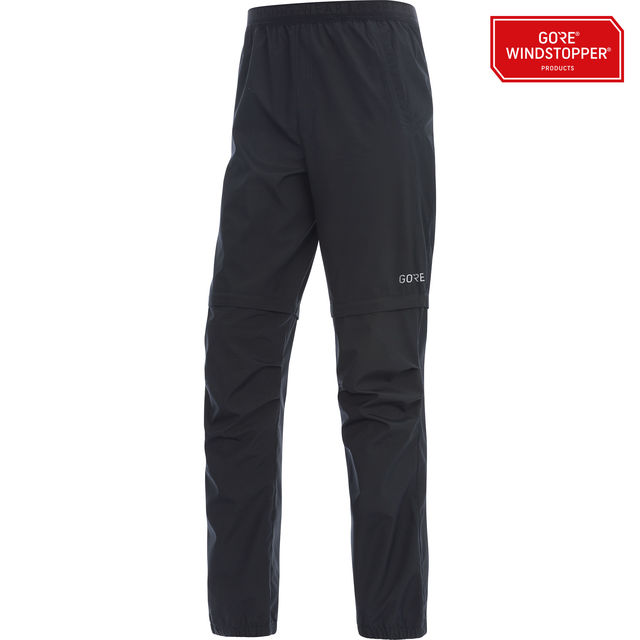 Gore R3 GWS Zip-Off Pants in Schwarz