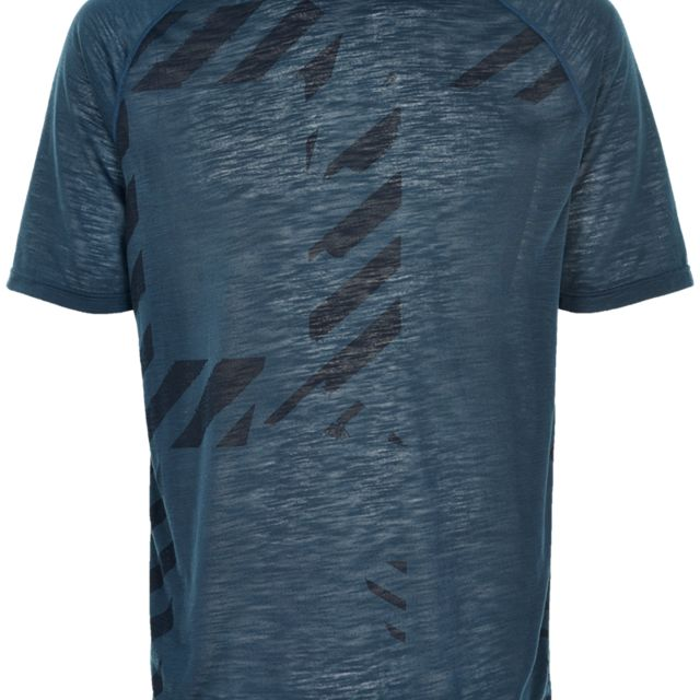 Newline Imotion Logo Tee in Blau