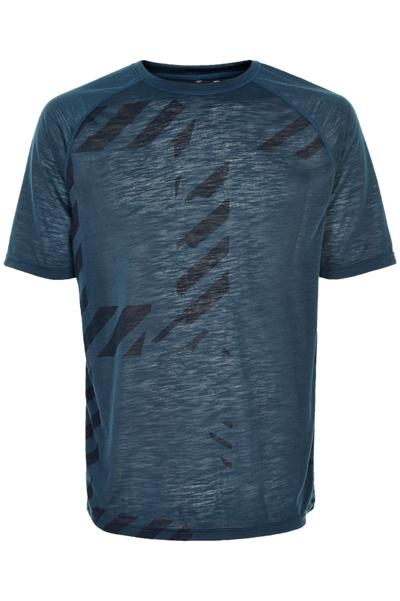 Newline Imotion Logo Tee in Blau