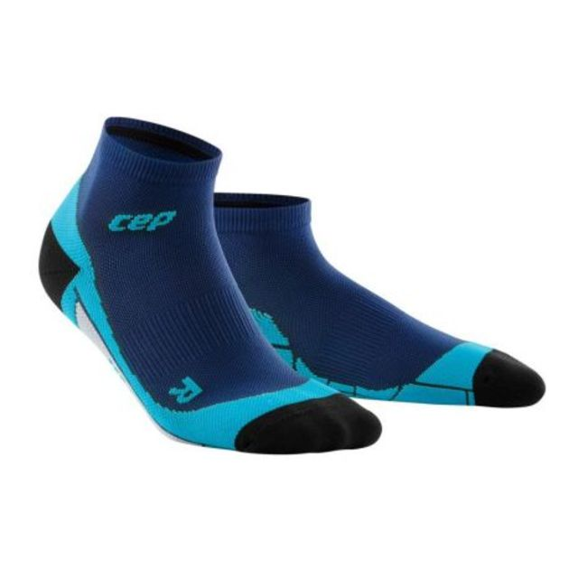 cep Low Cut Socks Men in Dunkelblau Blau