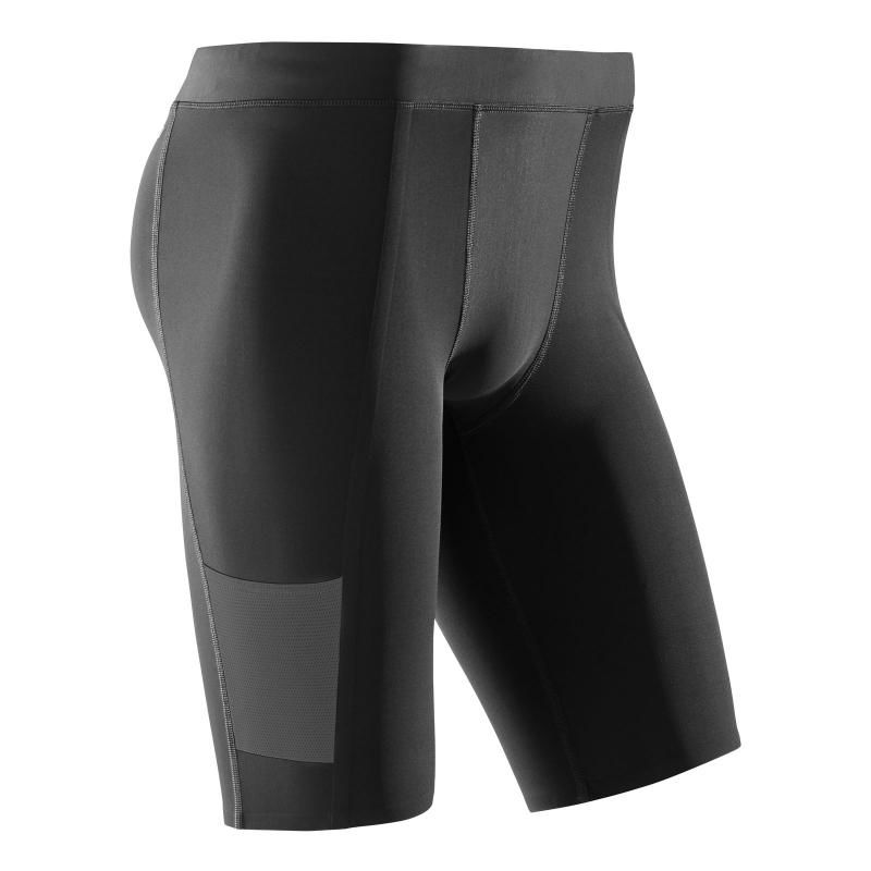cep Performance Short Tights in Schwarz