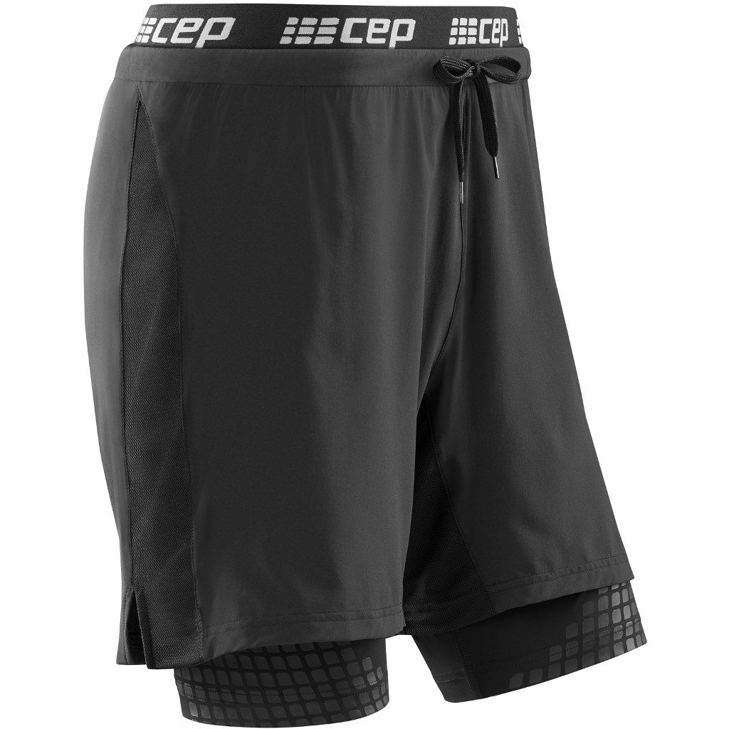 cep Performance 2in1 Shorts in Schwarz
