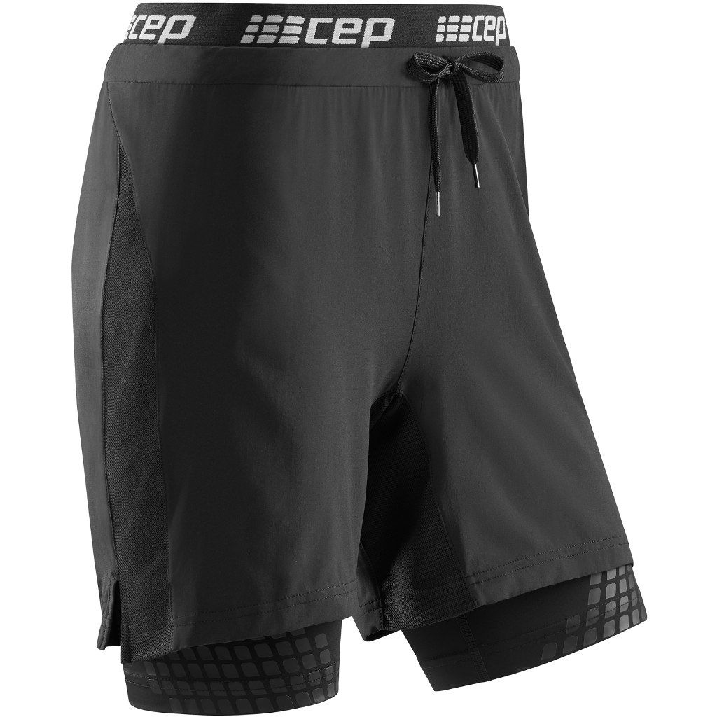 cep Performance 2in1 Shorts Women in Schwarz