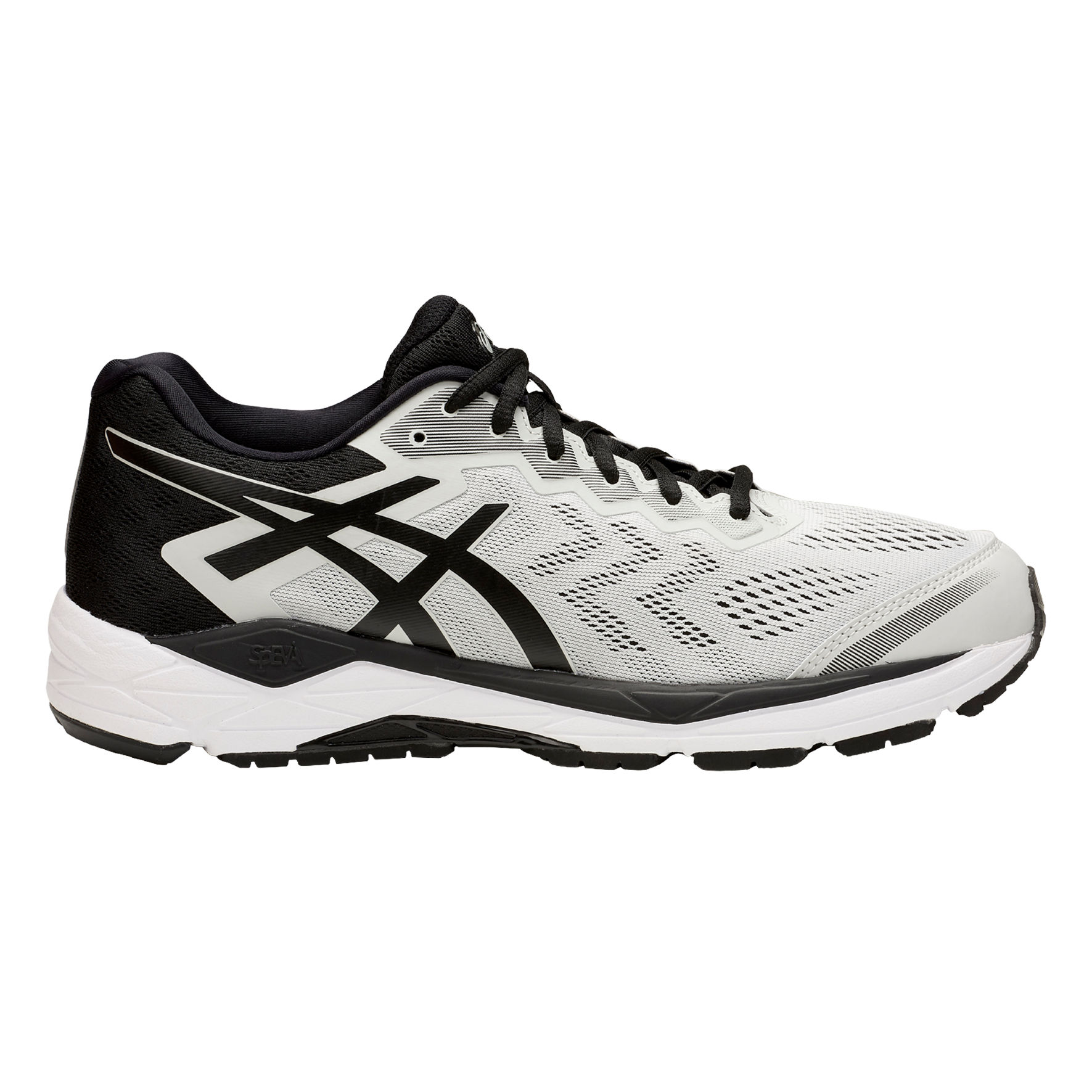Asics Gel Fortitude 8 2E in Grau