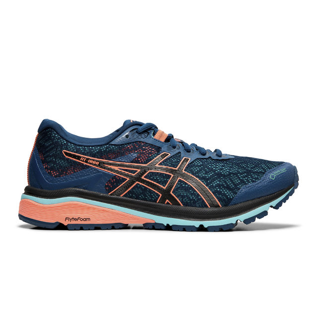 Asics Lady GT-1000 8 GTX in Blau Orange