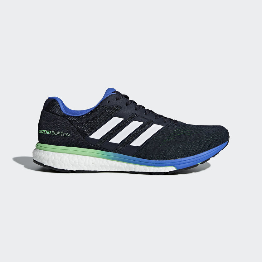adidas Adizero Boston 7 in Blau