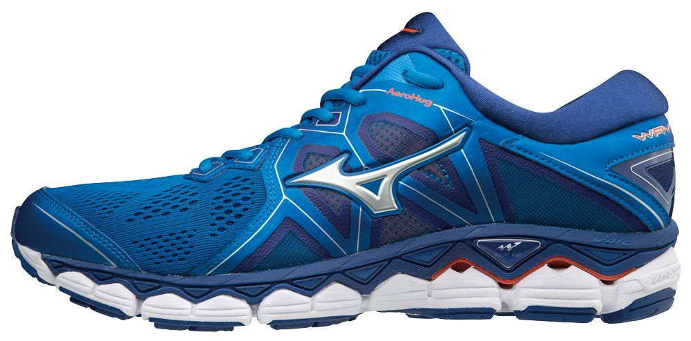 Mizuno Wave Sky 2 in Blau