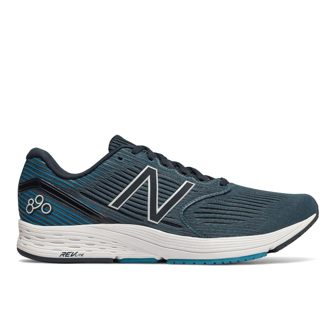 New Balance 890v6 in Blau Grau