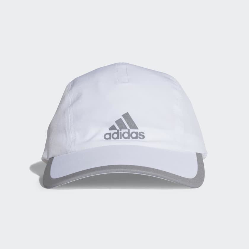 adidas Climalite Running Kappe in Weiß