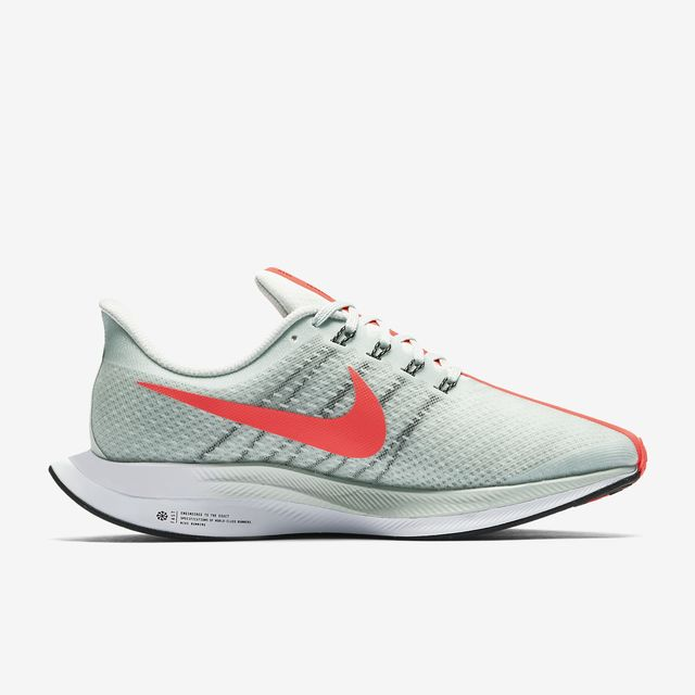 Nike Lady Zoom Pegasus Turbo (Grau Rot)